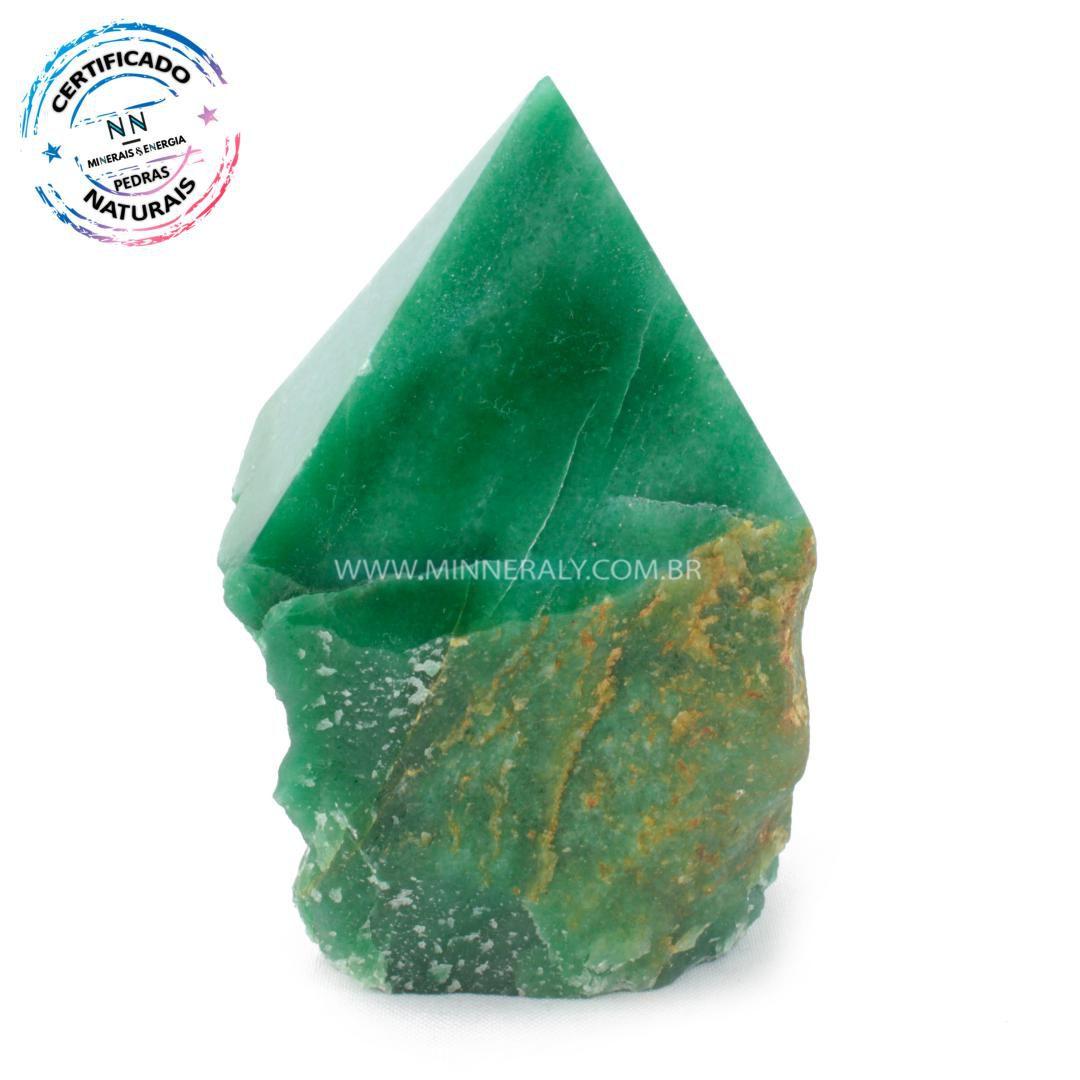 Ponta Geradora de Quartzo Verde in Natura (0,788kg; 11,8cm) #NN208