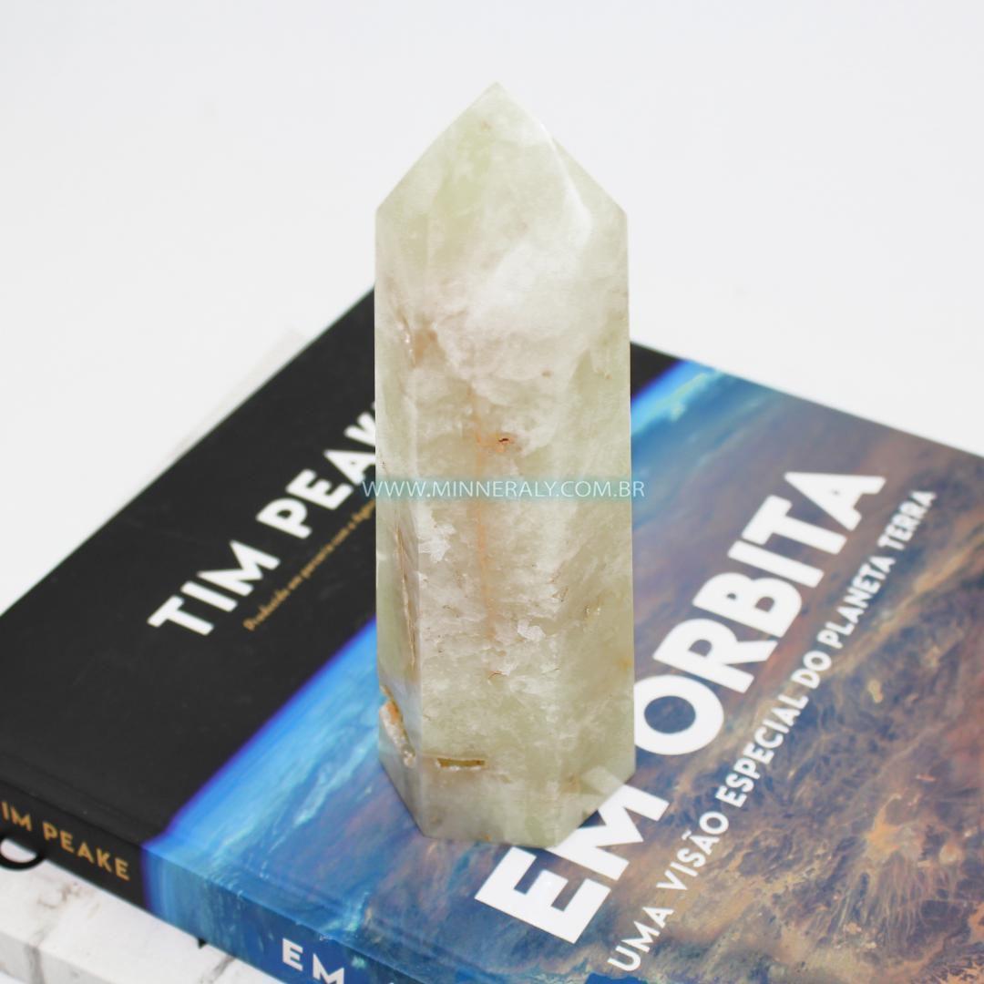 Pontas de Quartzo ou Cristal com Enxofre #NN170