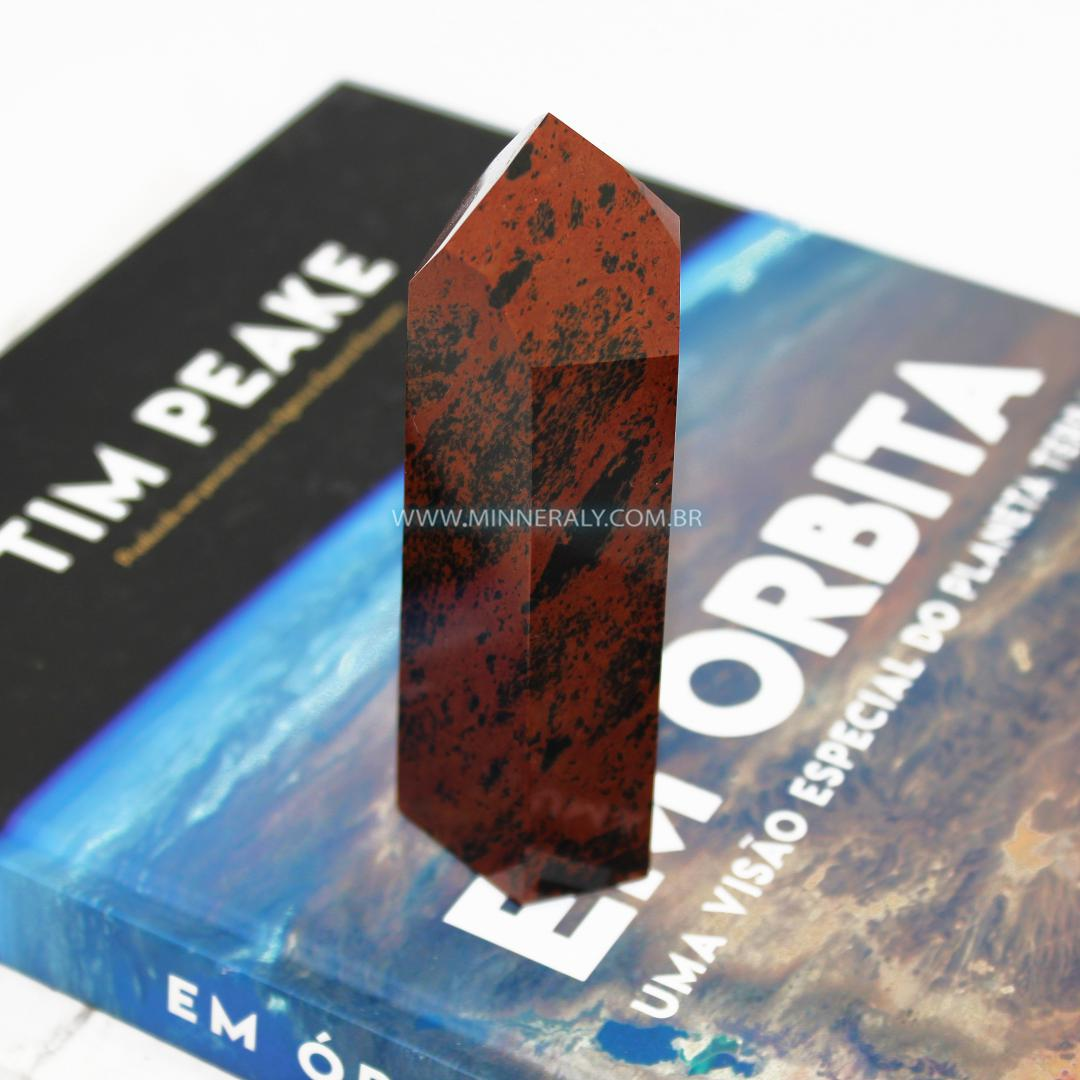 Pontas de Obsidiana Marrom in Natura #NN 103