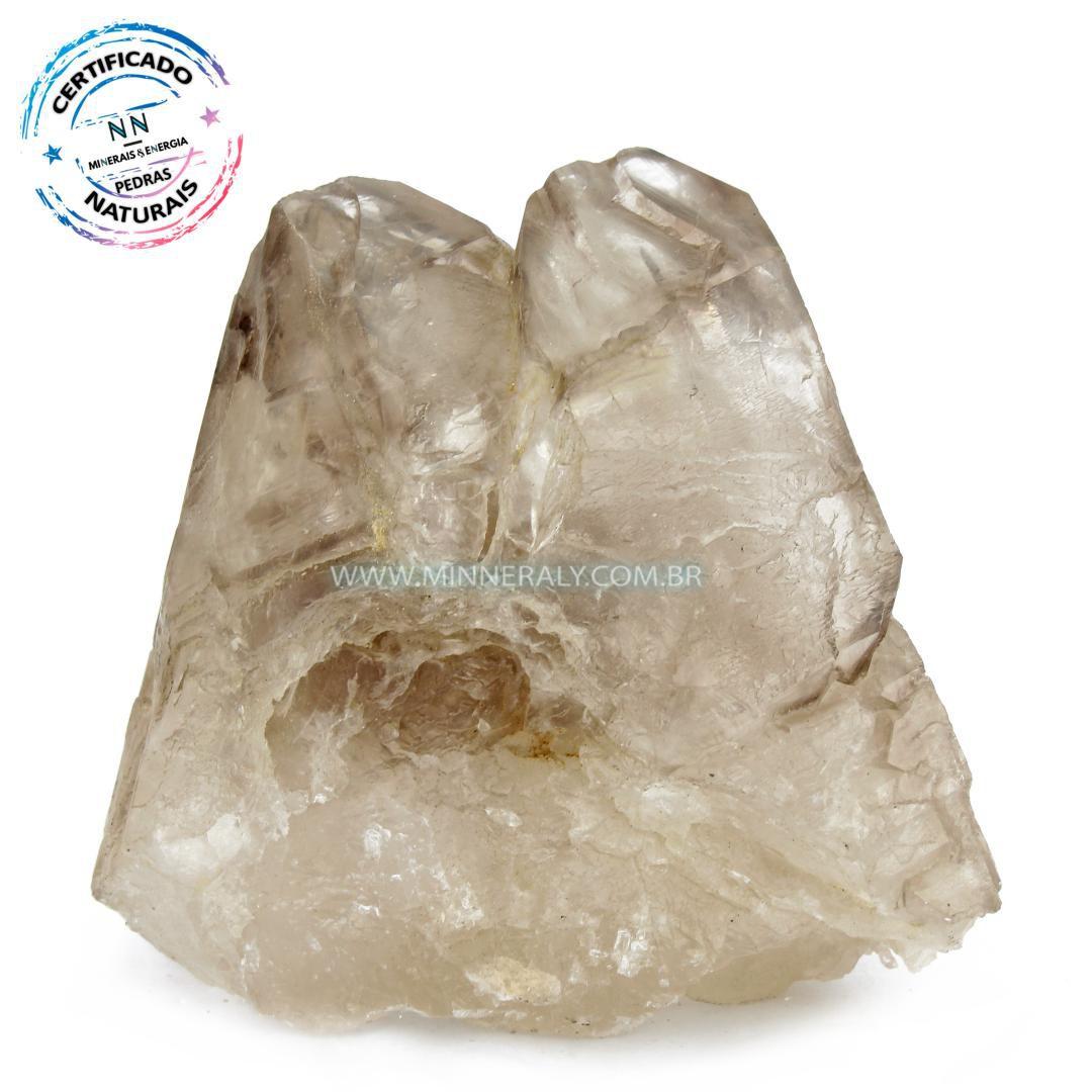 Quartzo ou Cristal  Elestial (Quartzo Jacaré) in Natura em Bruto (0,924kg; 11,0cm) #NN107