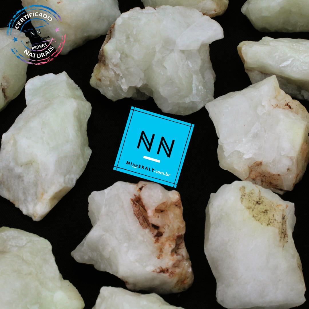 Quartzo ou Cristal com Enxofre In Natura Bruta/Peça