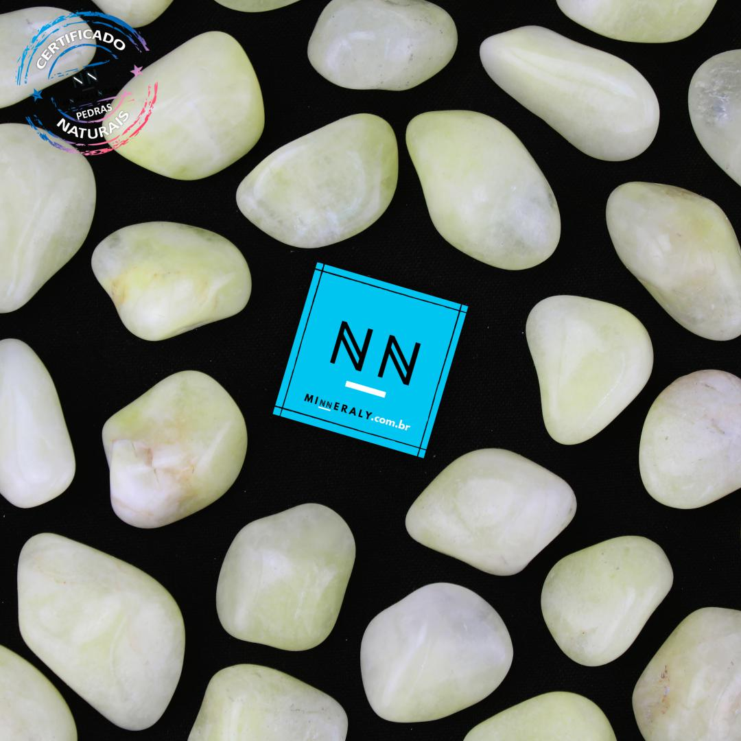 Quartzo ou Cristal com Enxofre IN Natura ROLADA/PECA