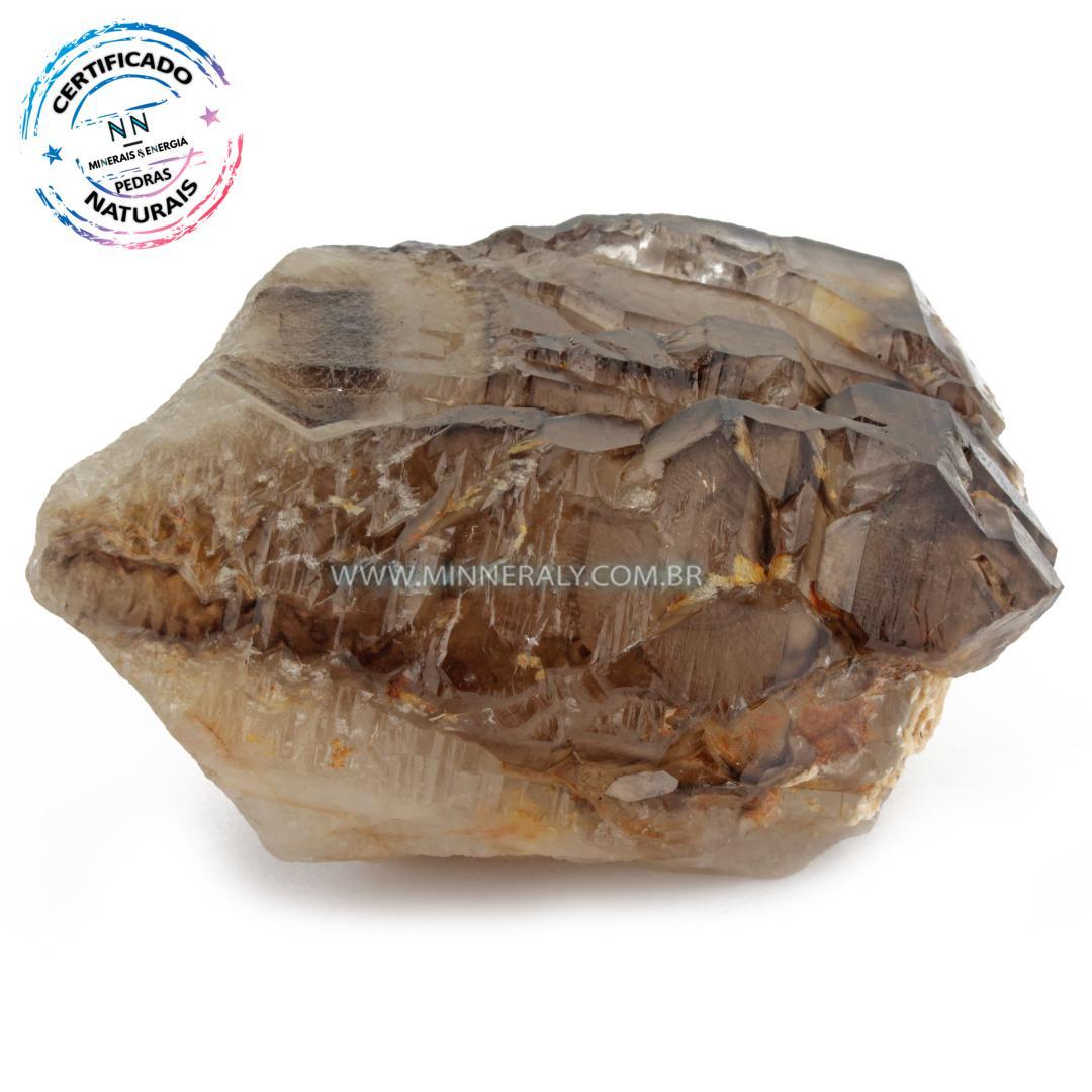 Quartzo ou Cristal Elestial (Quartzo Jacaré) in Natura em Bruto (0,322kg; 4,8cm) #NN110