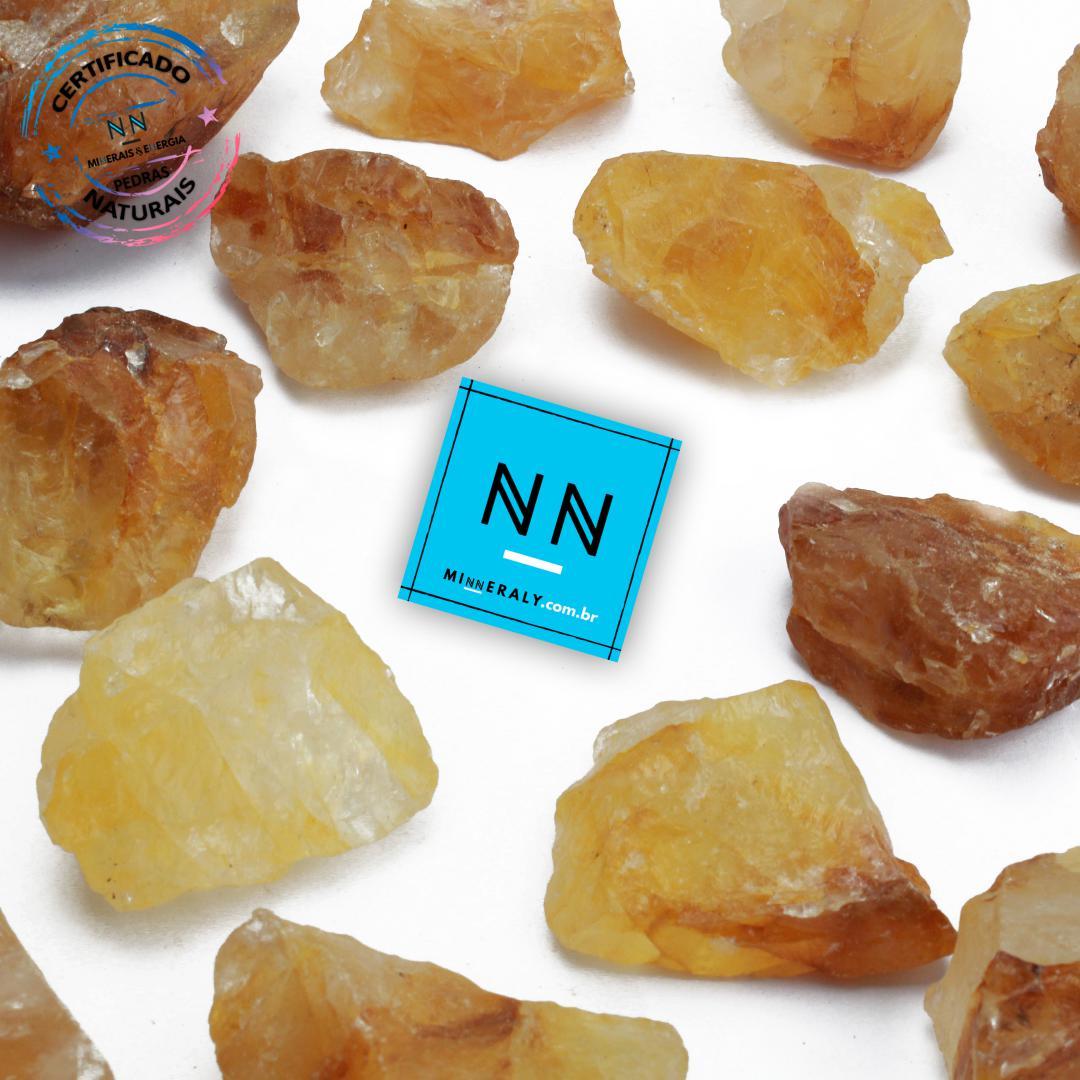 Quartzo ou Cristal Hematoide (Agente de Cura Ouro) in Natura Bruta/Peça