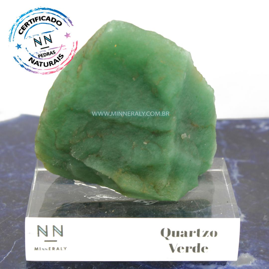 Quartzo Verde in Natura Clear.Collection (0,485kg; 10,0cm) #NN127