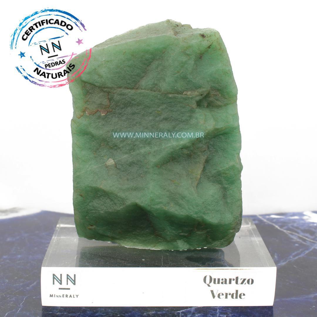 Quartzo Verde in Natura Clear.Collection #NN103