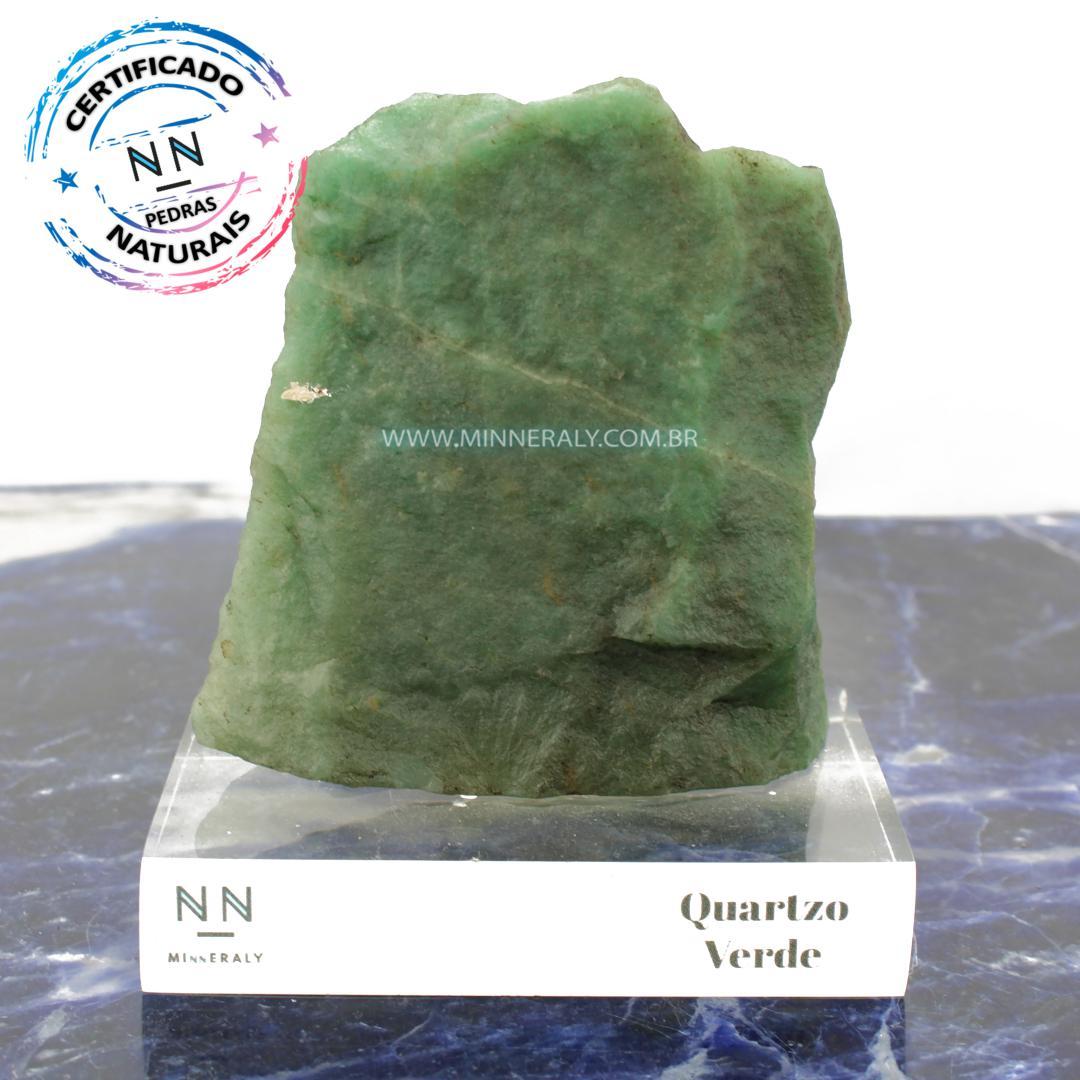 Quartzo Verde in Natura Clear.Collection (0,820kg; 13,0cm) #NN124