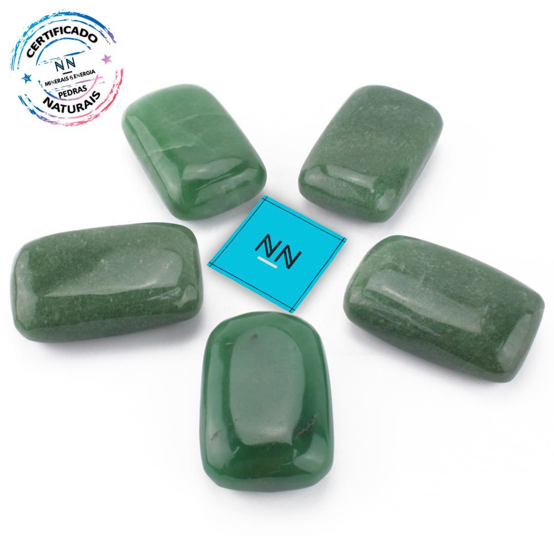 Quartzo Verde Palm Stone (Massageador) in Natura