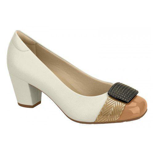 Sapato Feminino Social Modare Ultraconforto 7323103 Salto