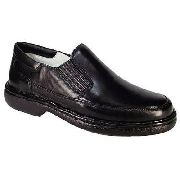Sapato Alcalay 709 Social Masculino Antistress Confort Couro
