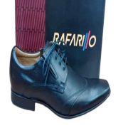 Sapato Rafarillo 3318 Social Original Couro De Amarrar Macio