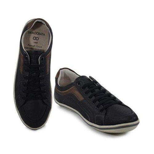 Sapato Democrata 034023001 Sapatenis Casual Couro