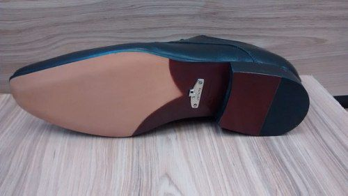 Sapato Jota Pe Sola De Couro 40632 Unico Par Disponivel