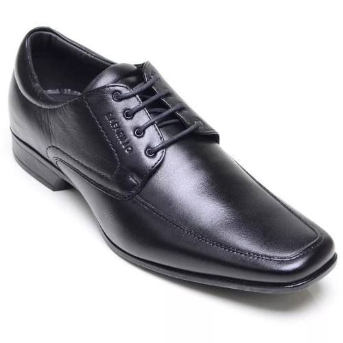 Sapato Rafarillo 4201 Preto Social Para Casamento Cadarço