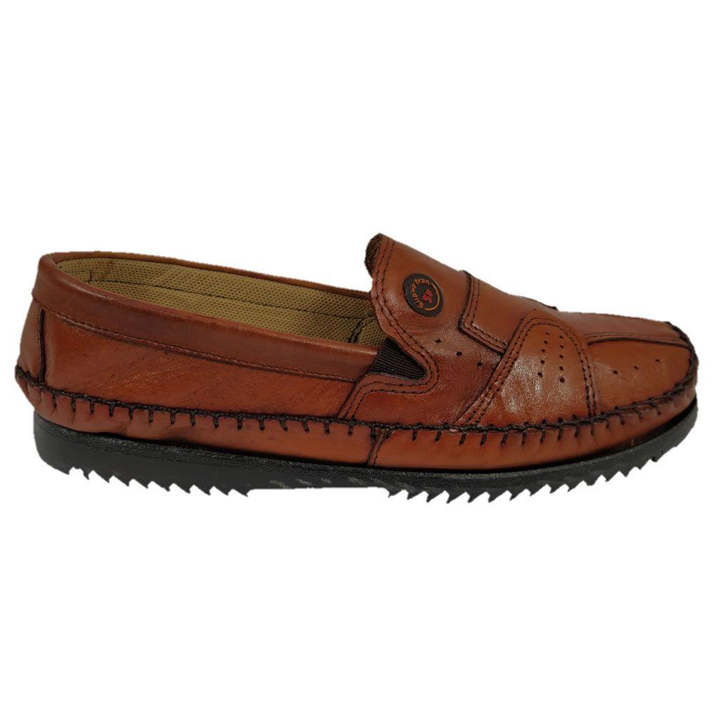 Sapato Masculino Mocassim Tradicional  Couro Legitimo Superfran 376