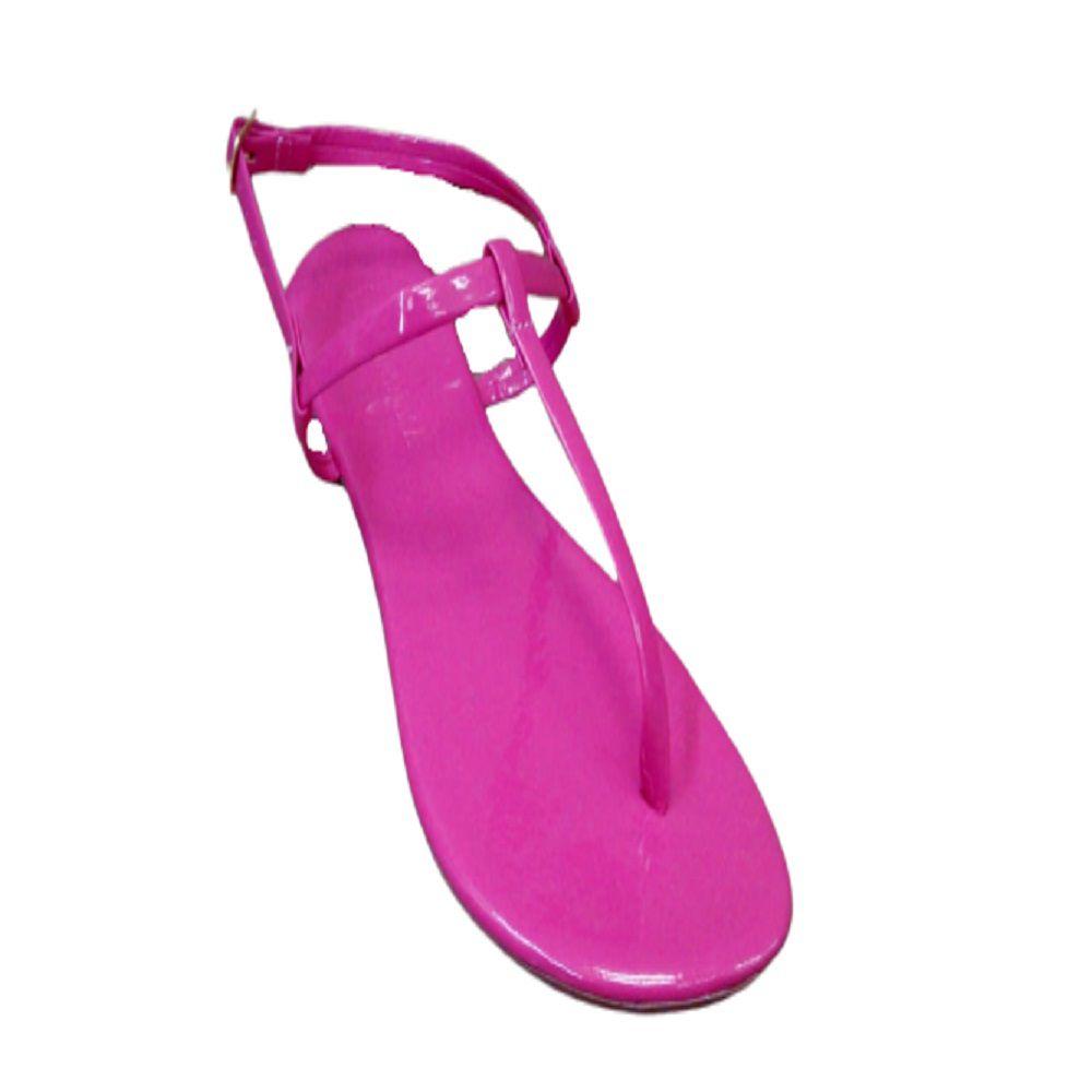 Sandalia Rasteira Dondoka 16 Feminina Pink