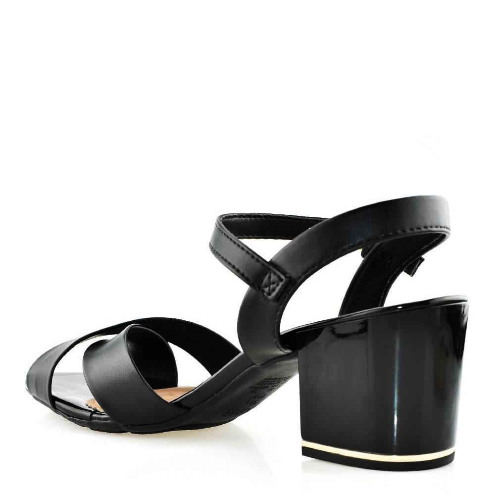 Sandalia feminina salto medio bloco Modare 7109201