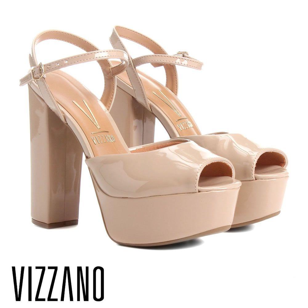 Sandalia Salto Grosso Meia Pata Vizzano 6282100