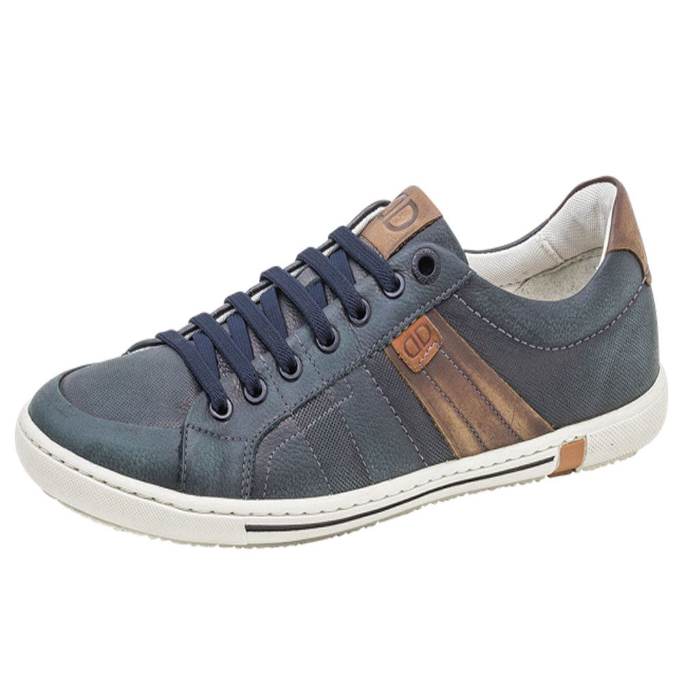 Sapatenis Democrata Masculino Casual Shoes Couro 149108001