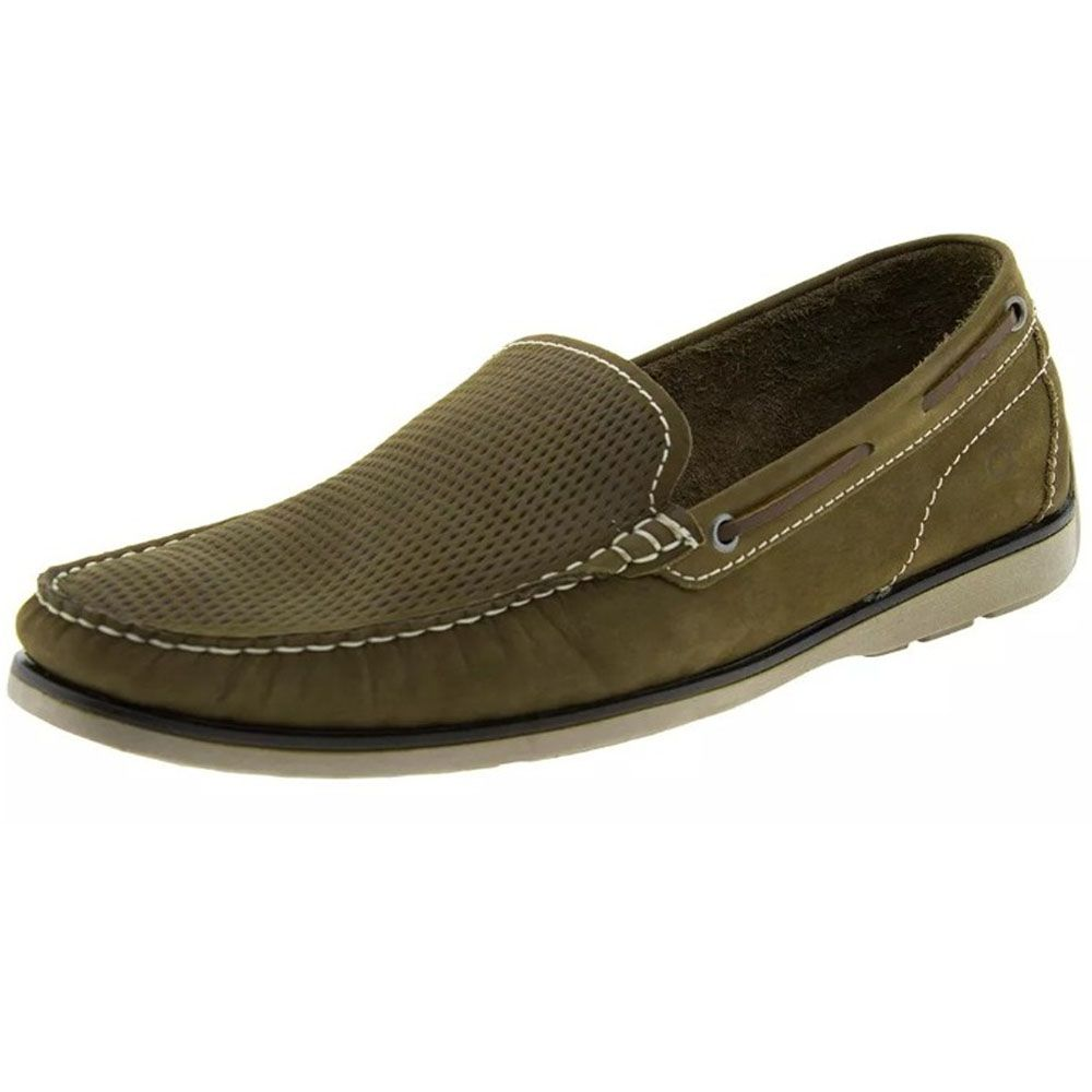 Sapato Democrata 135102005 Mocassim Couro Masculino