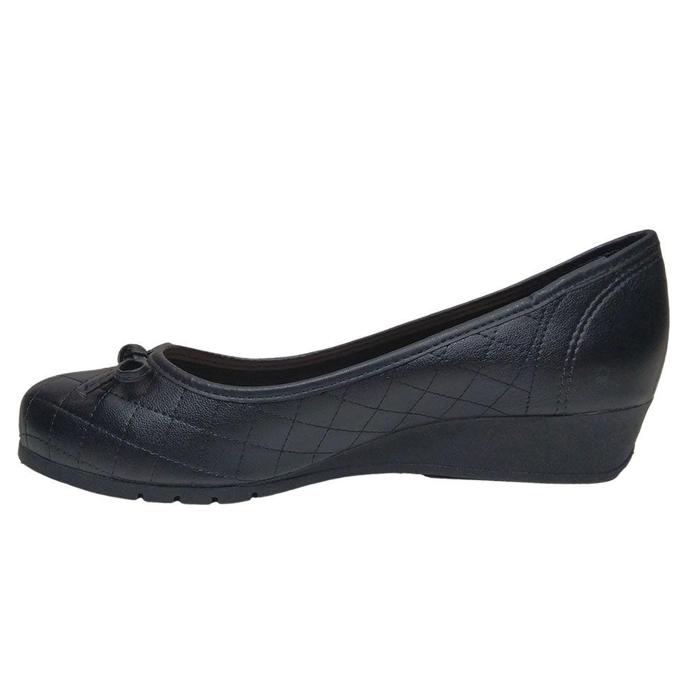 Sapato Feminino Anabela Salto Baixo 5156705 Moleca