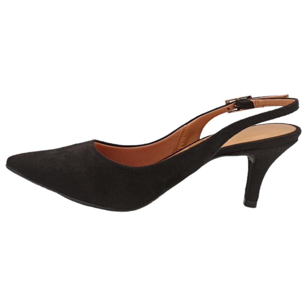 Sapato Feminino Calcanhar Aberto Bico Fino Vizzano 1185100