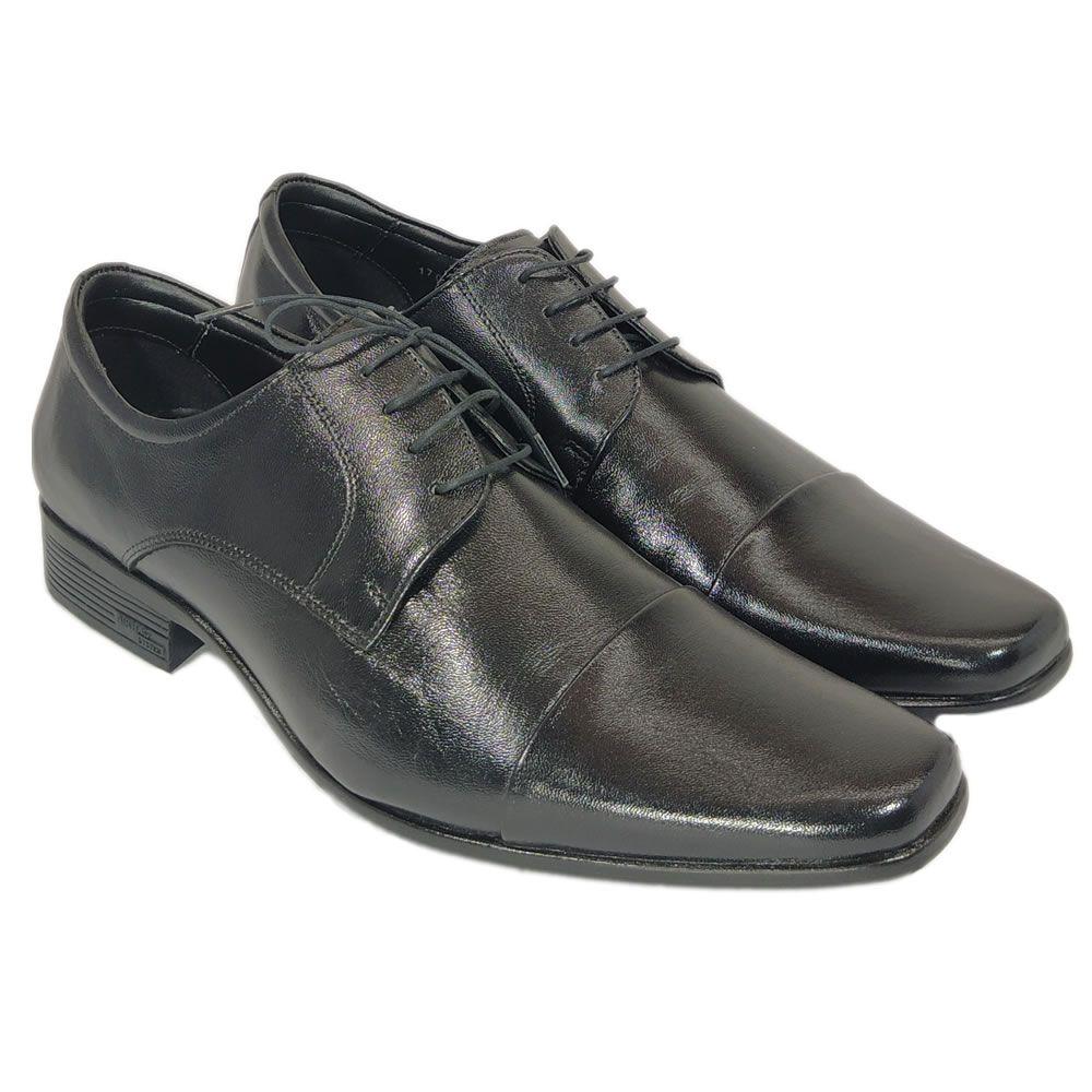 Sapato Masculino Social  Jota Pe Regent Air 17008 Couro Legitimo