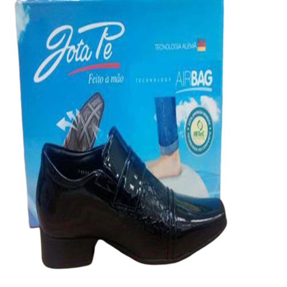 Sapato Social Jota Pe 71899 Couro  Macio