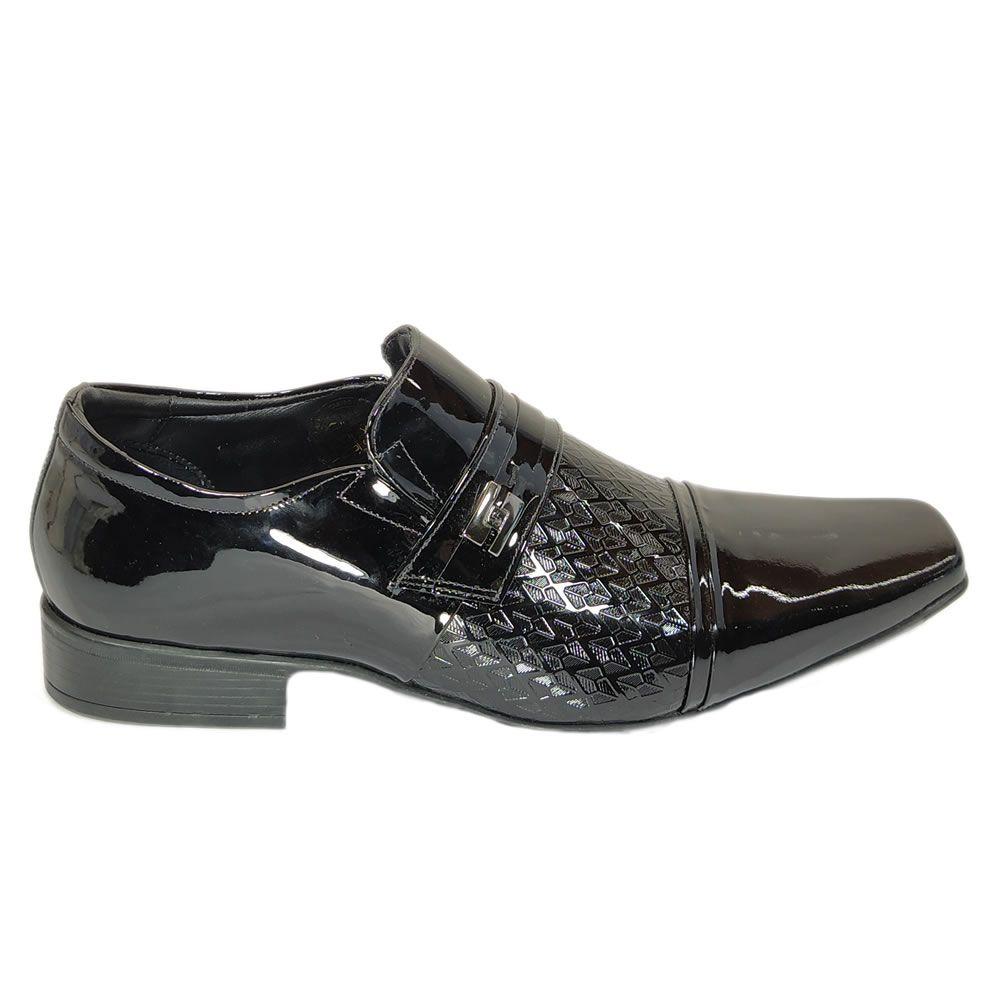 Sapato Social Masculino Couro Verniz Air  Jota Pe 71899