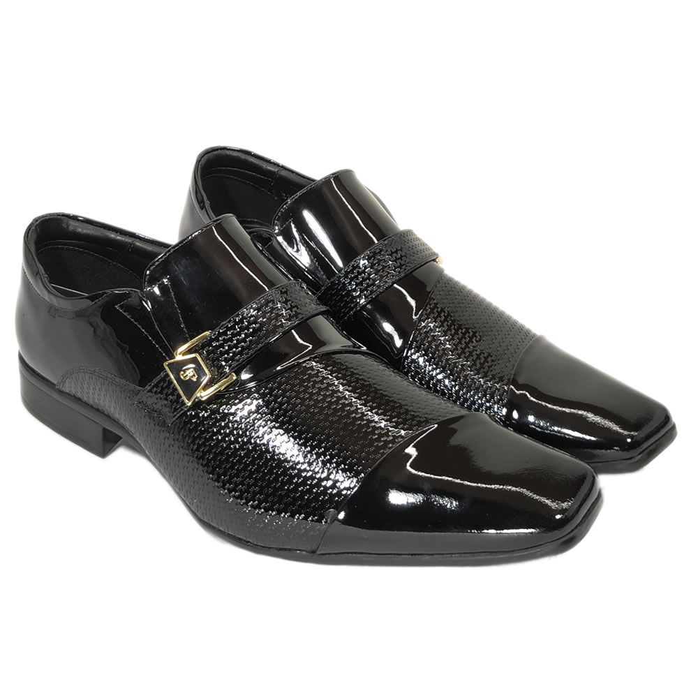 Sapato Social Masculino Couro Importado Italiano Jota Pe Original 22109
