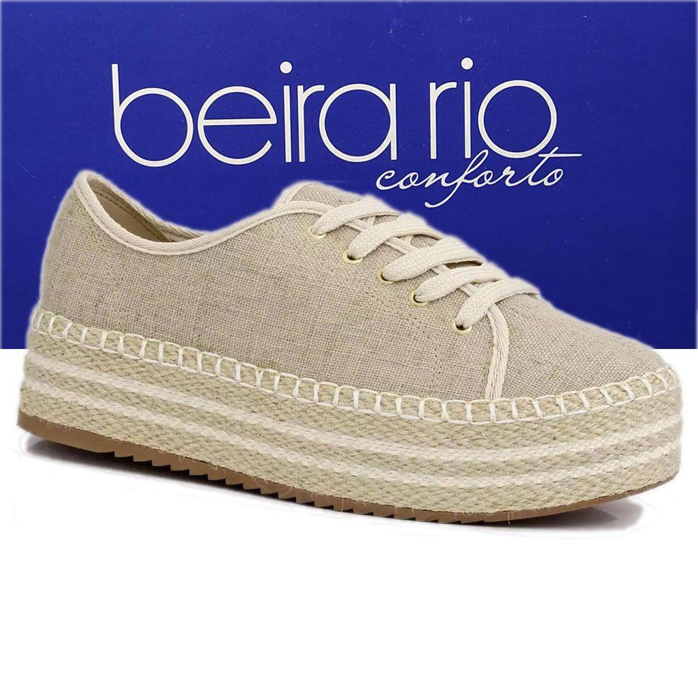 Tenis Feminino Casual Flatform Beira Rio 4232100