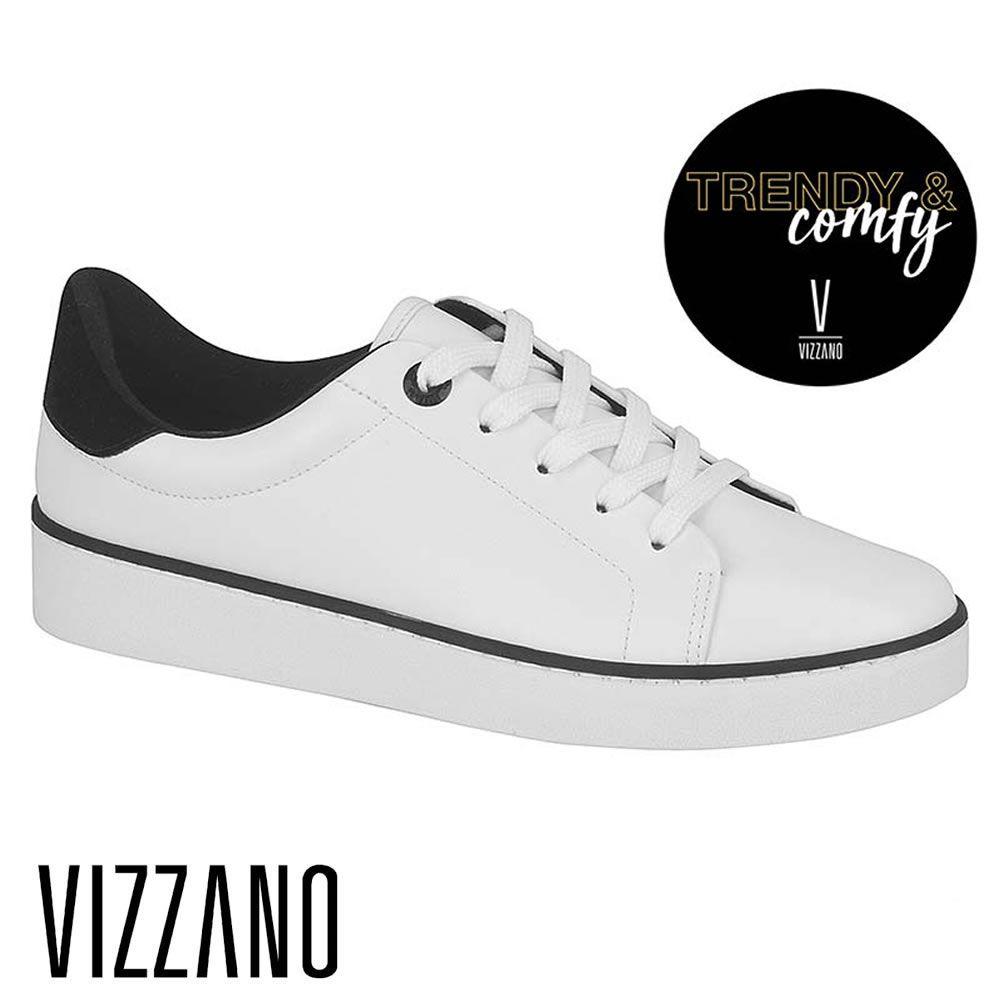 Tenis Feminino Vizzano 1214688 Branco Old school