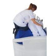 Lençol de manobra para auxiliar a transferência,manobra e reposicionamento de pessoas acamadas - tamanho grande