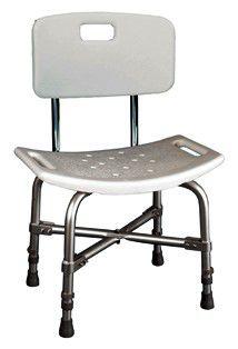 Cadeira de banho bariátrica com encosto
