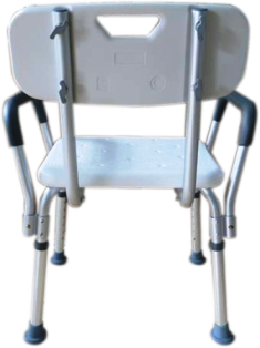 Cadeira de banho com encosto