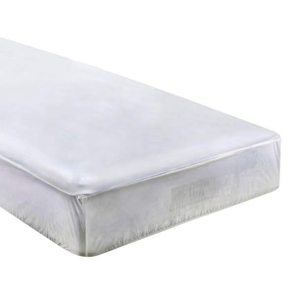 Capa protetora impermeável para colchão - 25 cm x 1,58 m x 1,98 m