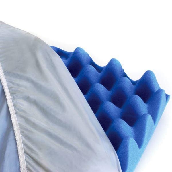 Capa protetora impermeável para colchão - 25 cm x 88 cm x 1,88 m