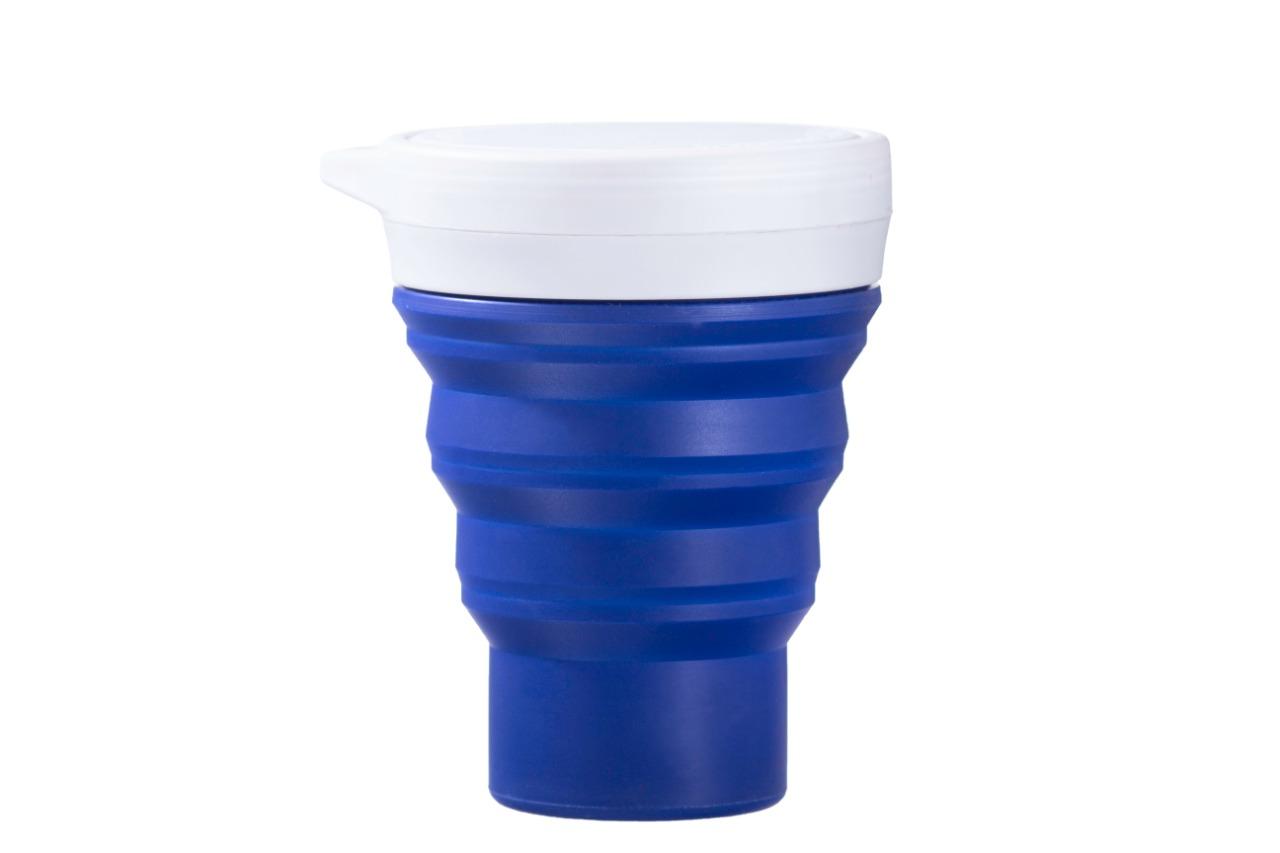 Copo de Silicone Reutilizável - Menos 1 Lixo