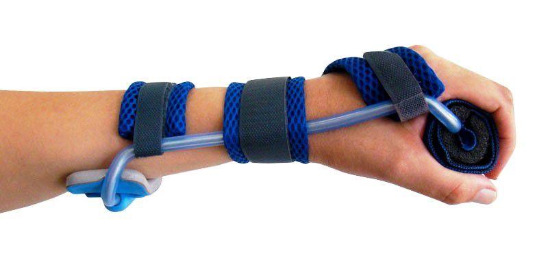 Órtese tubular de relaxamento para atender casos neurológicos ou ortopédicos