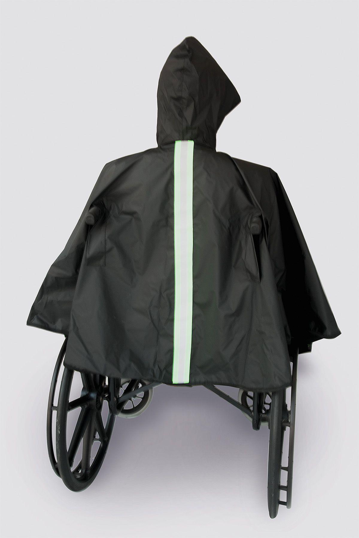 Capa de Chuva para cadeirantes