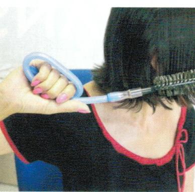 Facilitador escova de cabelos