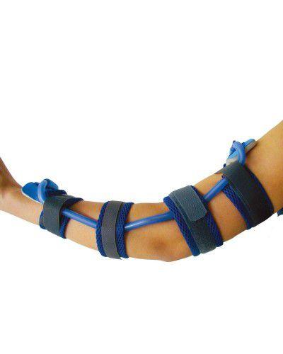 Órtese tubular extensora ou flexora para atender casos neurológicos ou ortopédicos