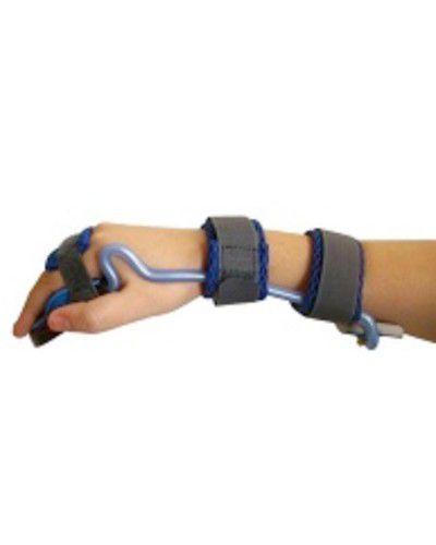 Órtese tubular extensora de punho e dedos  para atender casos neurológicos ou ortopédicos