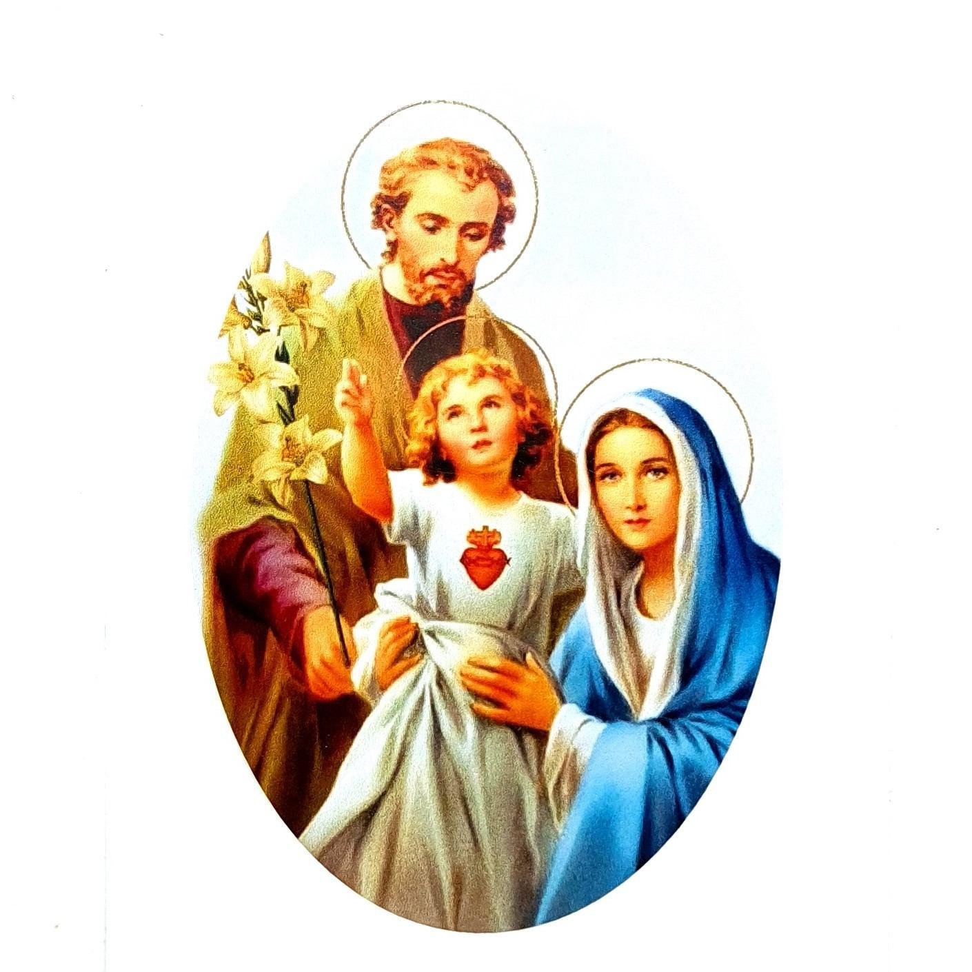 Adesivo Sagrada Família 10x7