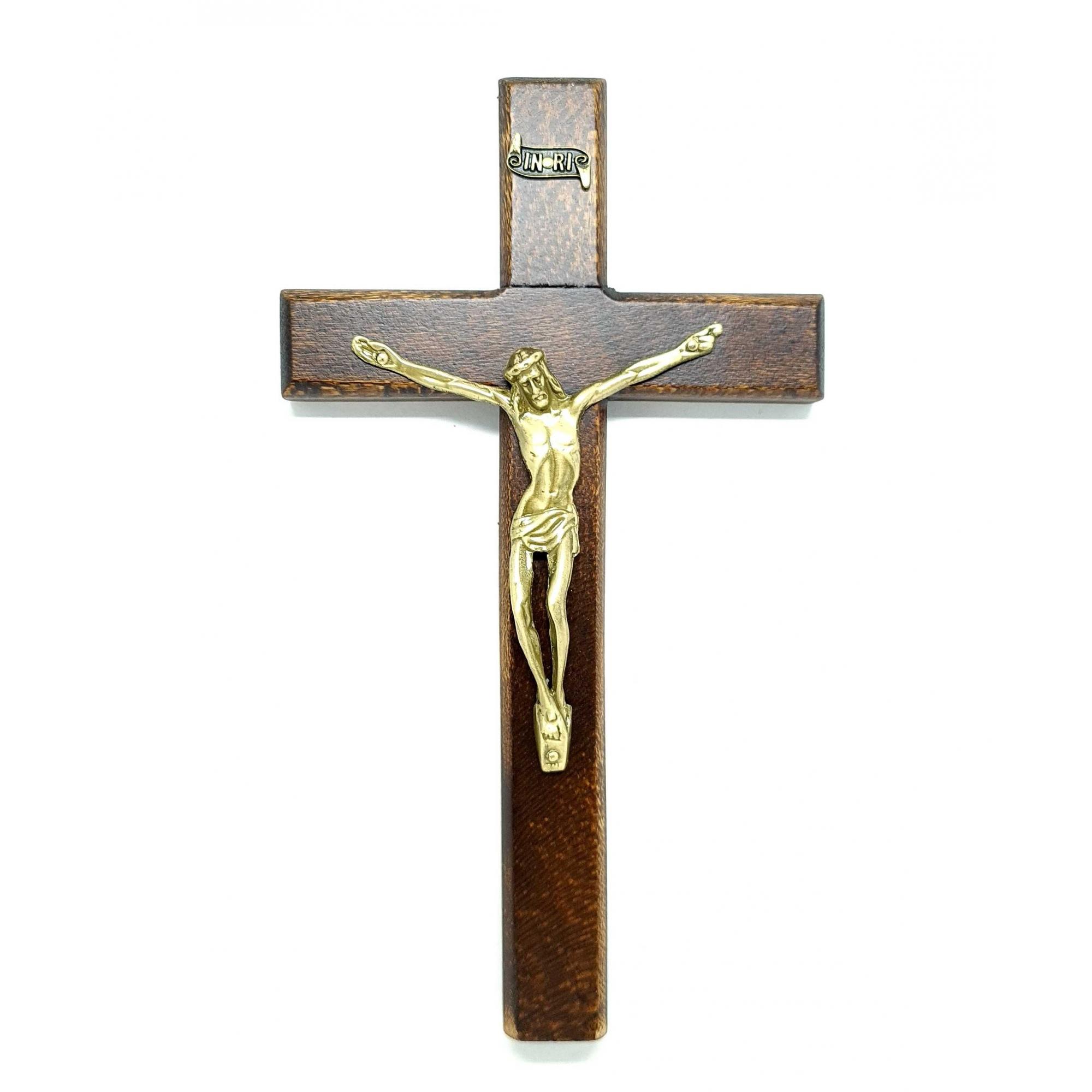 Crucifixo de parede ou porta 23 cm Edição Limitada