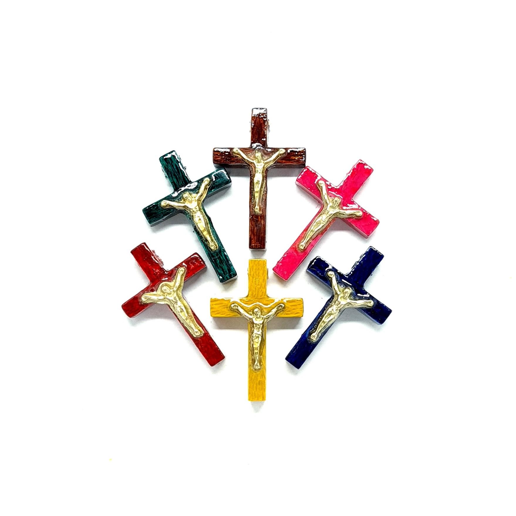 Crucifixo para terço médio - 10 unidades