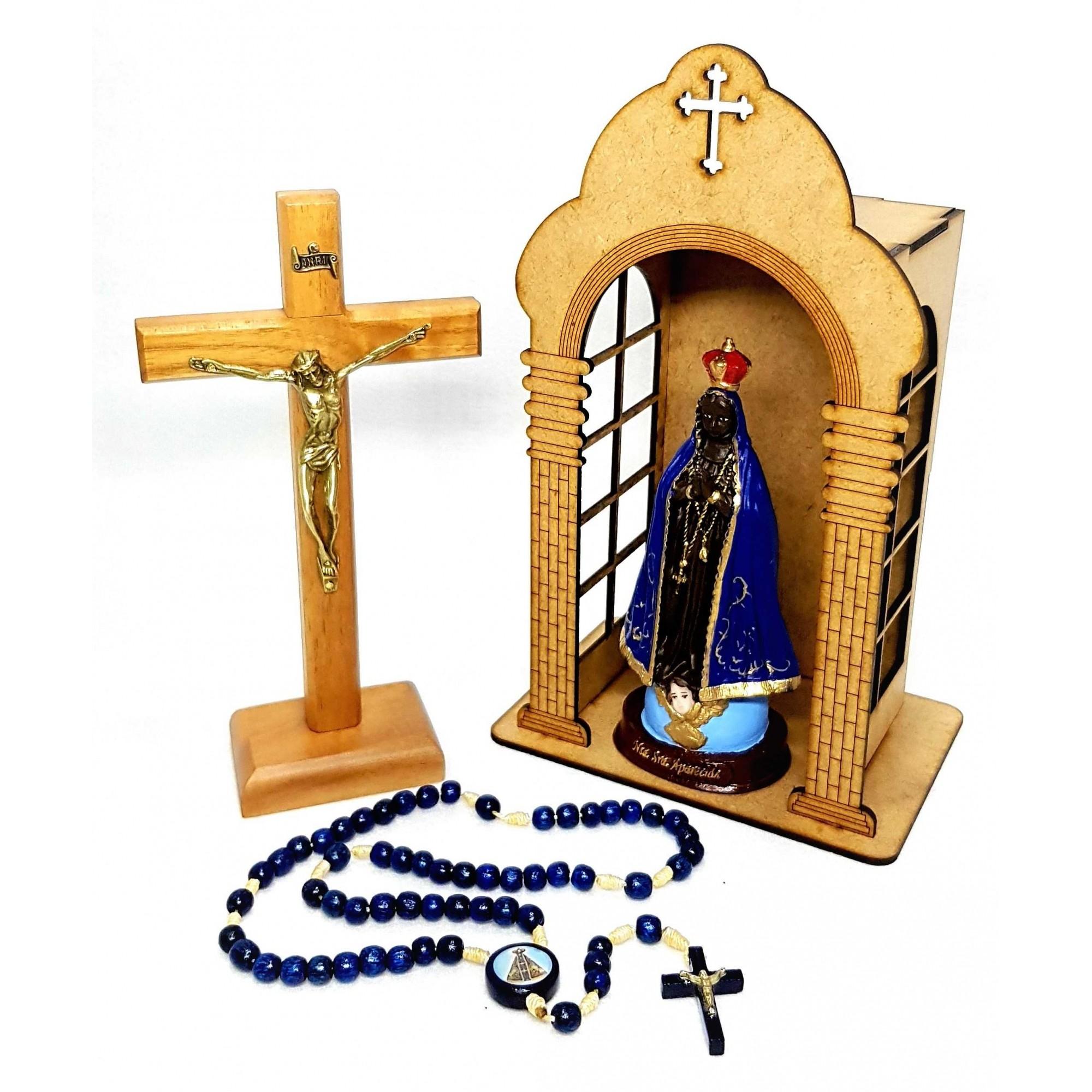 Kit Oratório Nossa Senhora Aparecida