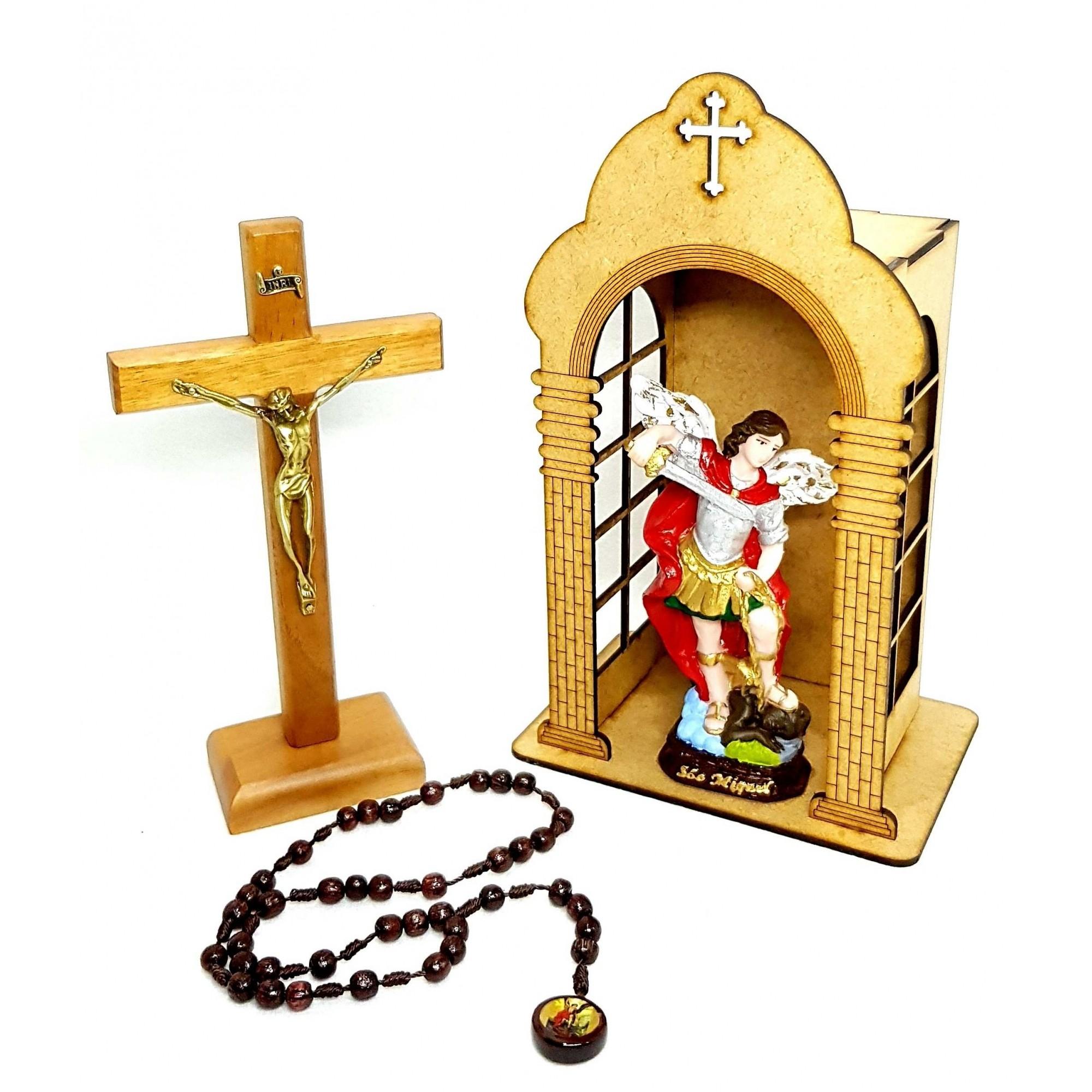 Kit Oratório São Miguel Arcanjo