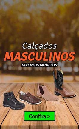 Calçados Masculinos na J Calçados