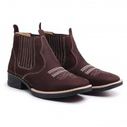 Bota Country Cano Curto Café 195